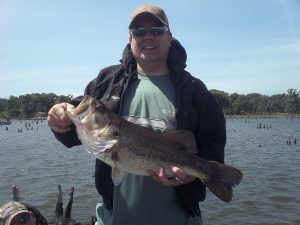 Fishing on Lake Fork