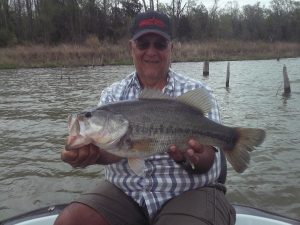 Bass & crappie fishing with DSP Guide Service